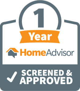 homeadvisor-1-year-screened-and-approved logo